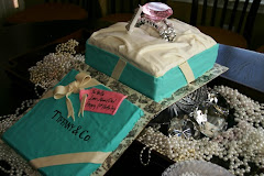 Tiffany & Co.Style Cake