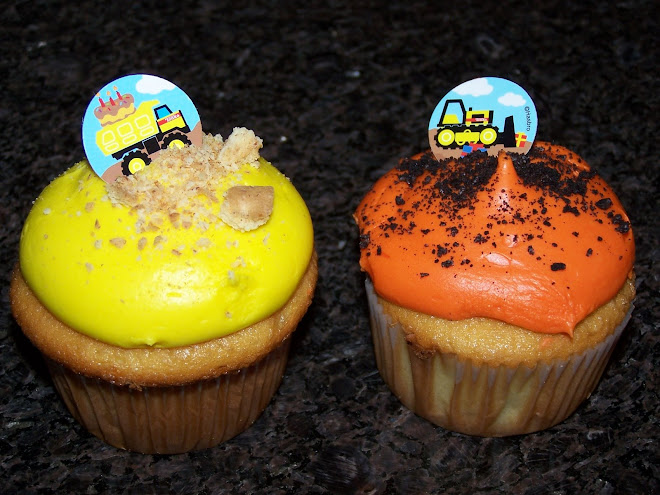 Construction Zone Cupcakes