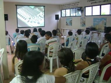 Exibição das sessões