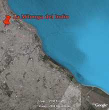 La milonga del indio en Google Earth