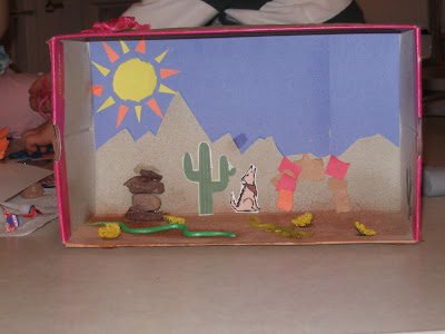 snake diorama