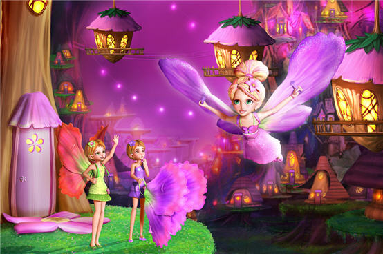 Barbie Thumbelina Cartoon