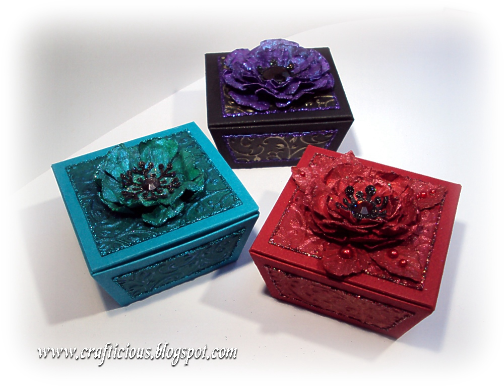 Crafticious free template christmas favour gift boxes