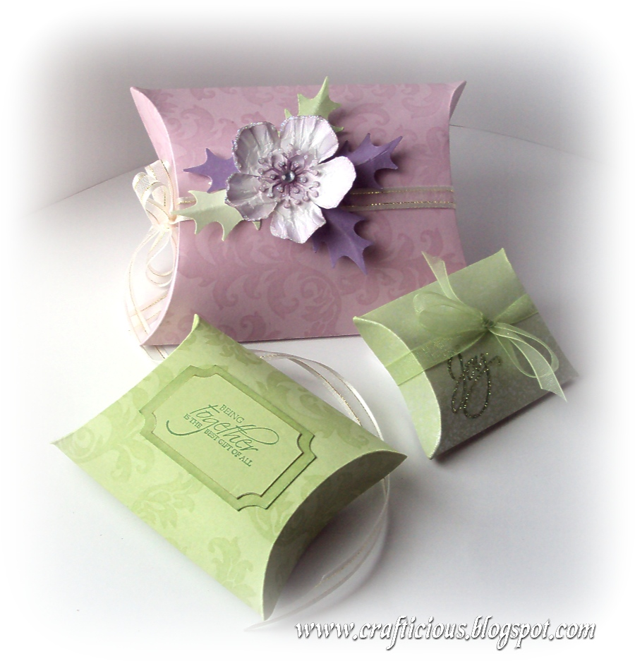 Easy gift box template