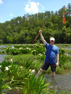 Joel Bullock goes native at the Cahaba River