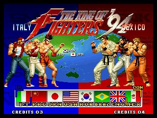 King Of Fighter 94 Al 99 Portables