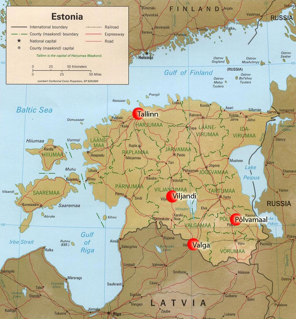 Estonia population can speak russian