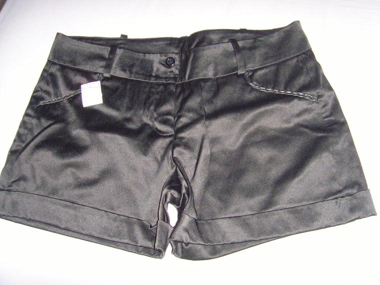 Shorts Preto Tam P - Grande
