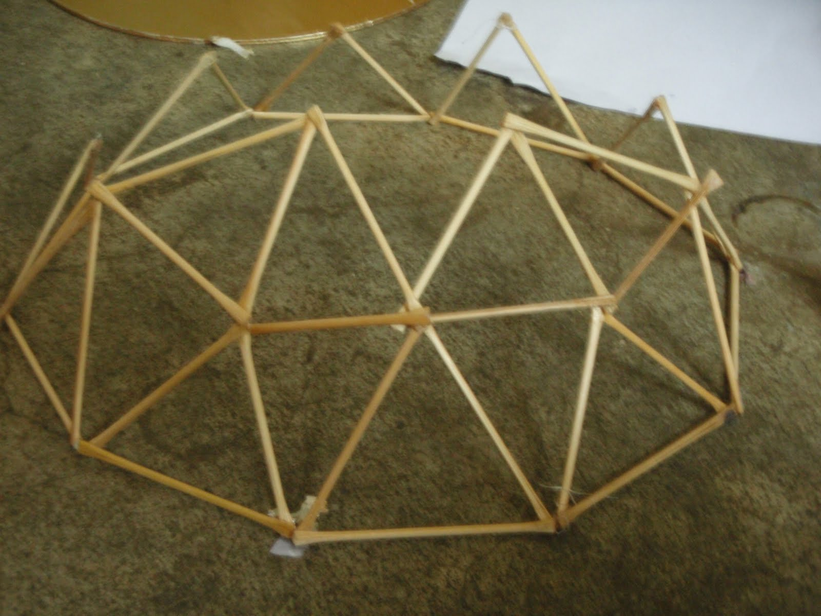 Rag 132 geodesic dome for Geodesic dome template