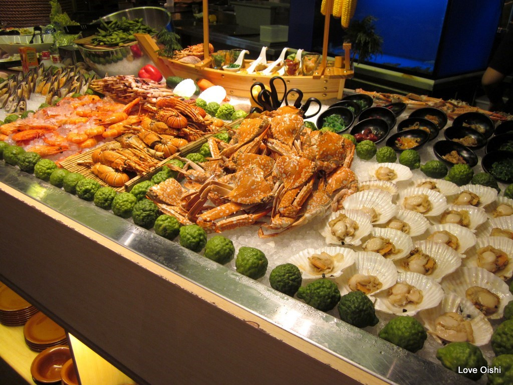 Love oishi kiseki japanese buffet restaurant for Asian cuisine buffet