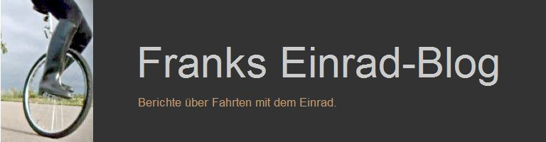 Franks Einrad-Blog