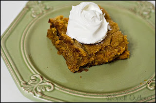 Pumpkin Squares Dessert