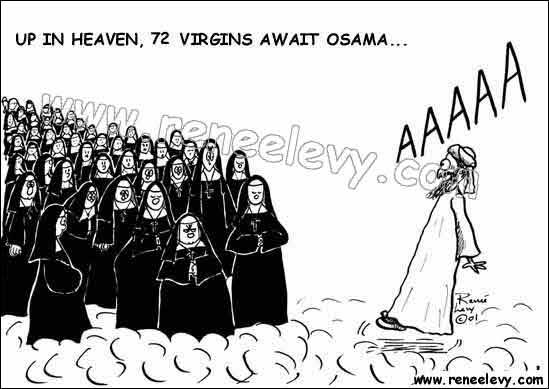 gay 72 virgins cartoon