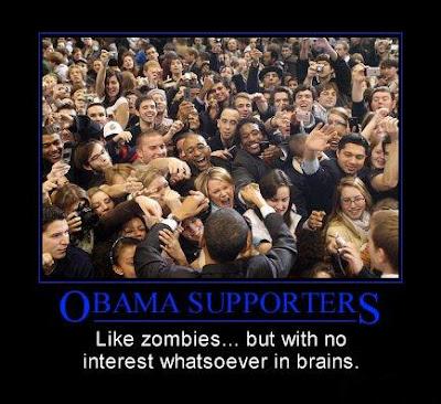 obama zombie costume