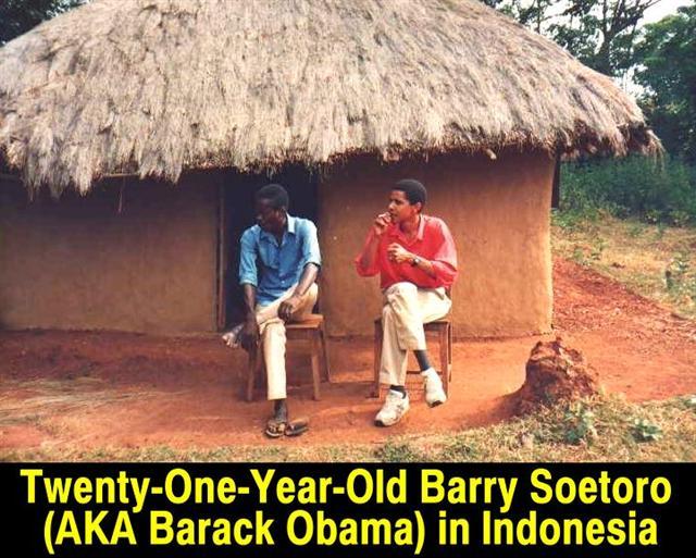 Barry Soetoro lying