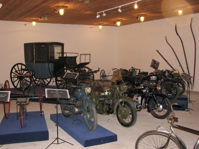 Bikes at Palmse manor