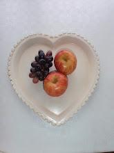Fruktfat hjerte , i hytta på Filtvet!