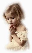 Dios que lindo cuando los niños oran