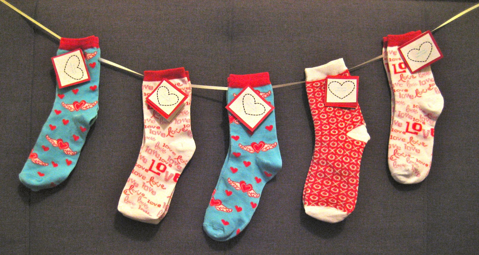 valentine sayings - Valentines Socks