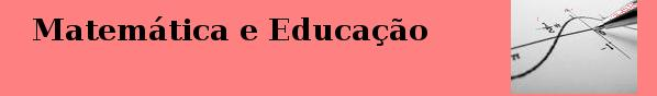 Matemática&Educação