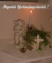 Kaikille jotka ovat vierailleet blogissani, toivotan tämän kuvan myötä Hyvää Ystävänpäivää !!