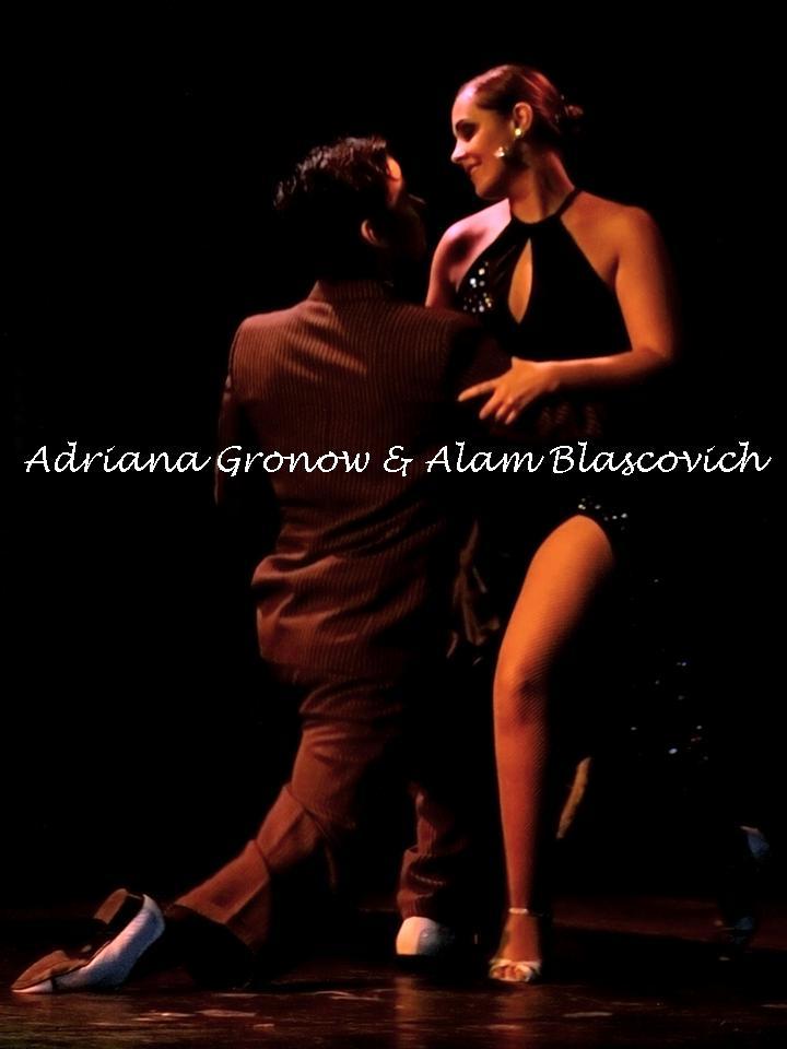 Adriana Gronow e Alam Blascovich