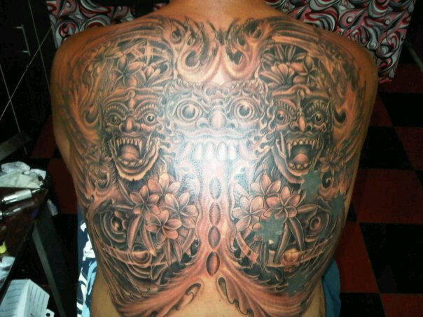 Barong Tattoo Merty