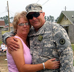 Spc. Price and Me at Camp Shelby, Miss.