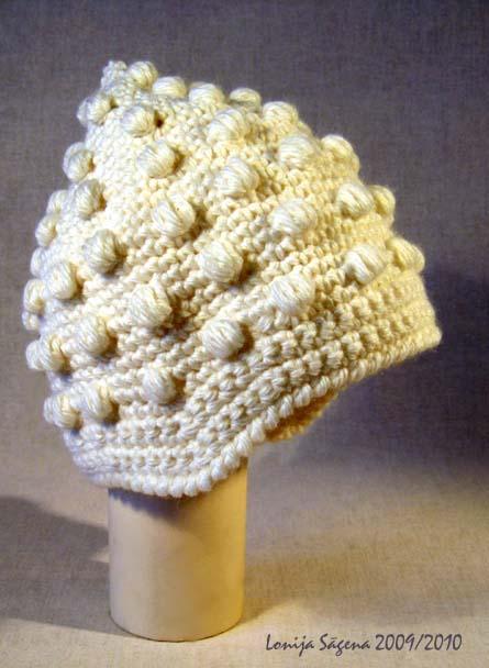 tamborēta cepure ausaine ausu stūrīši