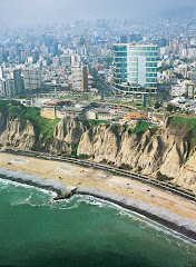 Miraflores from the air