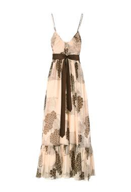 by malene birger peach nolia maxi dress