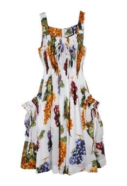grape print dress vivienne westwood anglomania