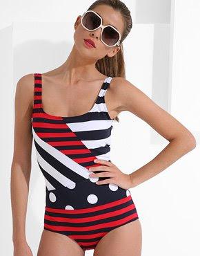 nautical swim wear