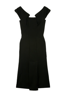 Nathen Jenden slim Fit Black dress