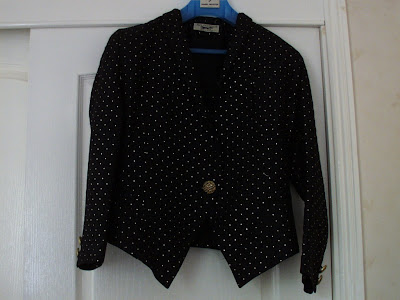 second hand clothes vintage suit jacket