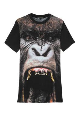 Christopher Kane monkey gorilla t shirt