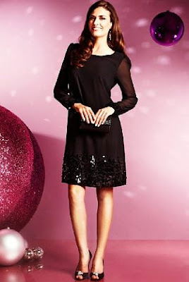 long sleeved sequin dress