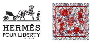 hermes pour liberty scarf