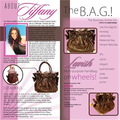 wheeled handbag