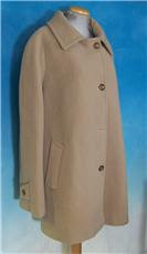 vintage tan wool coat
