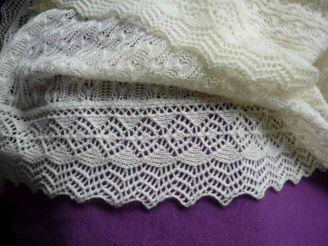 Passap Knitting Machine Patterns : Diana natters on... about machine knitting: Absolutely Gorgeous! Passap Shawl...