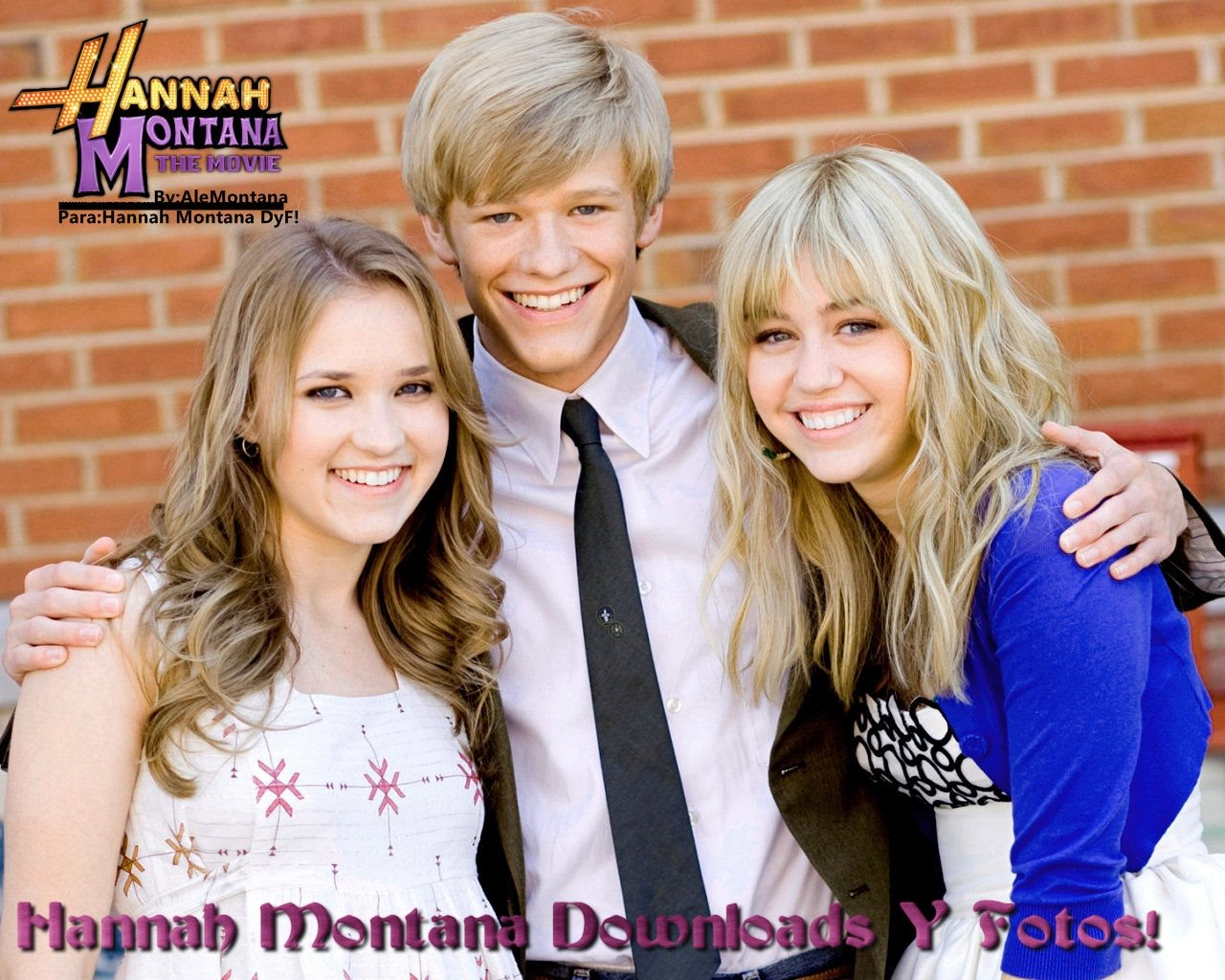hannah montana downloads y fotos!