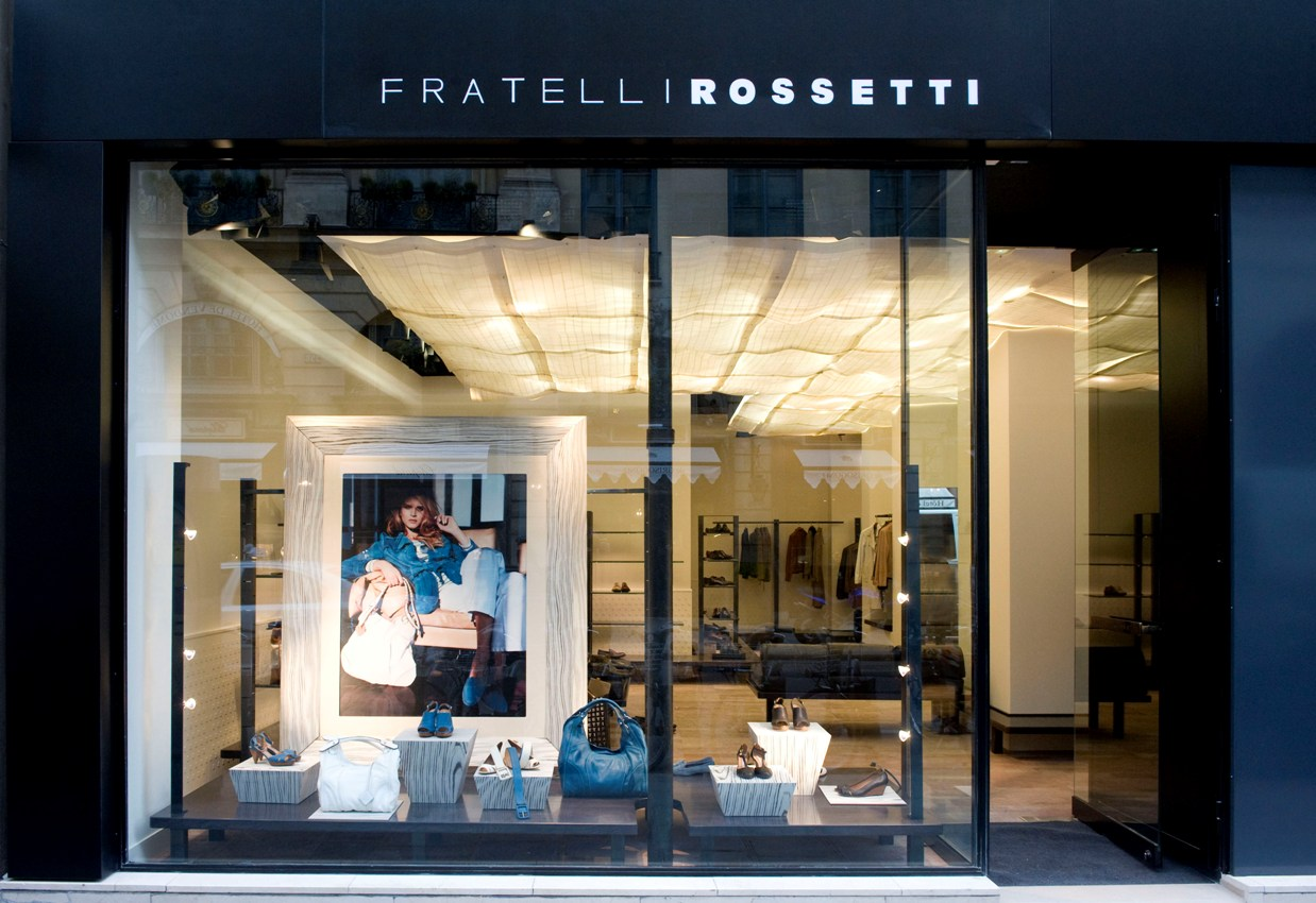 NEVER ON WEDNESDAY COMMUNICATION: Fratelli Rossetti in Paris