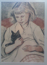 Helene and her Cat