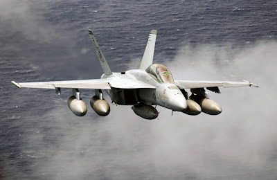 F-18 Hornet air patrol wallpapers