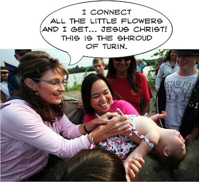 sarah palin and jesus christ funny
