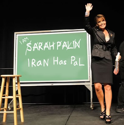 Sarah Palin looks more adn more like Hillary Clinton