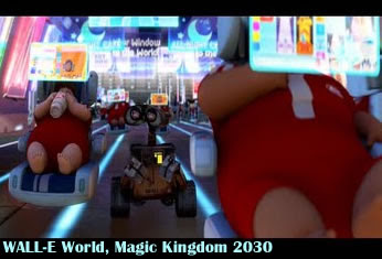 WALL-E World disney