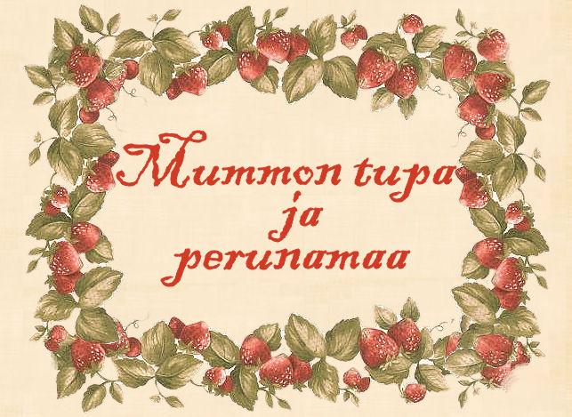 Mummon tupa ja perunamaa