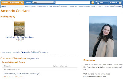 Amanda Caldwell Author Page at Amazon